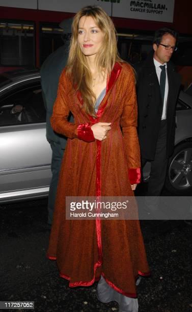Natasha McElhone during Finch Partners PreBAFTA Party Arrivals at Annabel's in London Great Britain