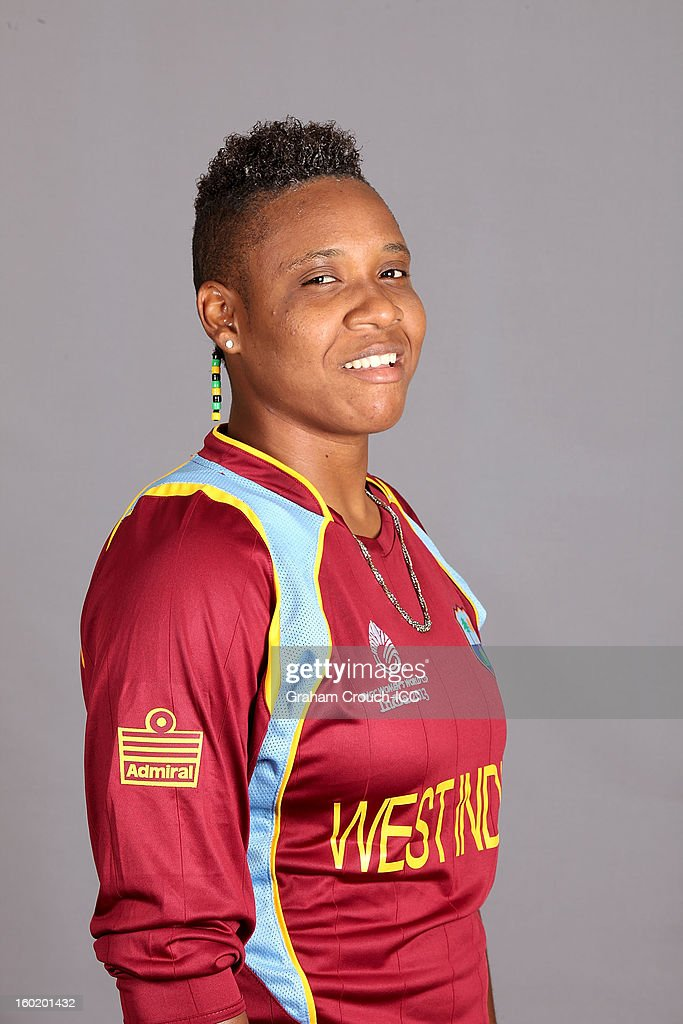 Natasha McLean of West Indies poses at a portrait session ahead of the ICC Womens World Cup 2013 at the Taj Mahal Palace Hotel on January 27, 2013 in Mumbai, India.
