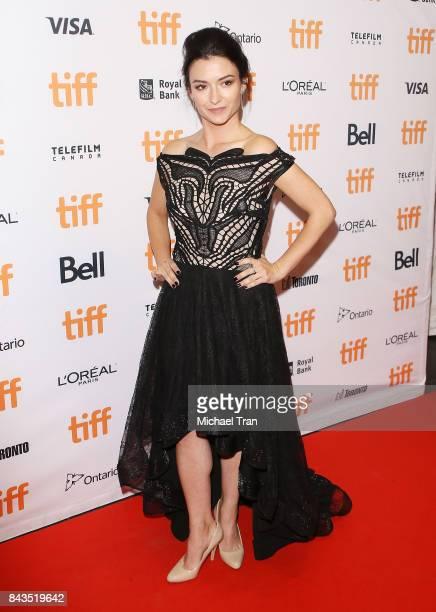 Natasha Negovanlis arrives at the TIFF Soiree held during the 2017 Toronto International Film Festival at TIFF Bell Lightbox on September 6 2017 in...