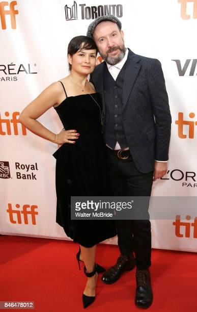 Natasha Noramly and Paul McGuigan attend the 'Film Stars Don't Die in Liverpool' premiere during the 2017 Toronto International Film Festival at Roy...