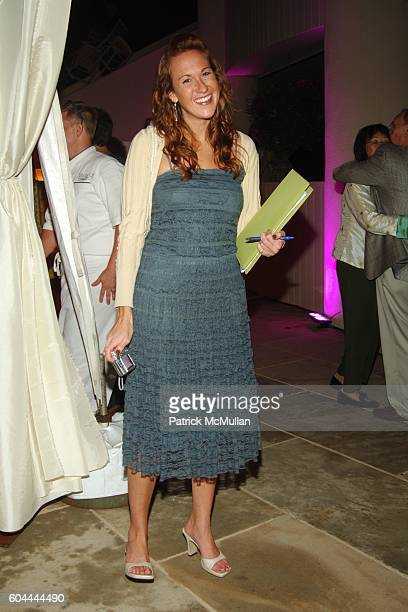 Natasha Norris attends An Evening Under the Stars with Patti LaBelle Hosted by Barton G for Diabetes Research at Private Residence on August 26 2006...
