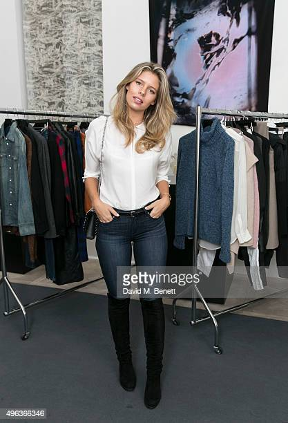 Natasha Oakley attends the Women's private members club Grace Belgravia which opens its doors to the public for a nearlynew designer clothes sale in...