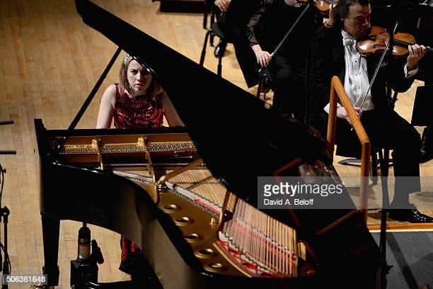 Natasha Paremski The Virginia Symphony Orchestra Perform Tchaikovsky's Piano Concerto No 1 at Chrysler Hall on January 22 2016 in Norfolk Virginia