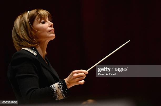 Natasha Paremsky The Virginia Symphony Orchestra Perform Tchaikovsky's Piano Concerto No 1 at Chrysler Hall on January 22 2016 in Norfolk Virginia