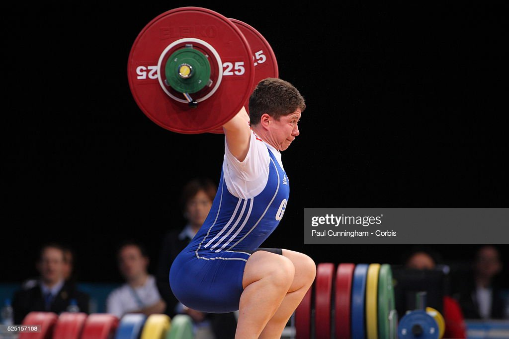 Weight lifting - London Prepares 2012 Olympic Summer Games Test Series : News Photo