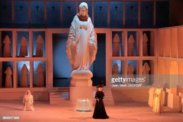 Natasha Petrinsky in a view of Suor Angelica second part of Il Trittico the triptych by Giacomo Puccini is oneact opera sung in Italian presented at...