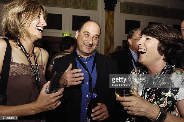 Natasha Pincus Daniel Scharf and Ani Browning attend the 21st Annual SPAA Conference welcome drinks at The Vercace Hotel on November 14 2006 on the...