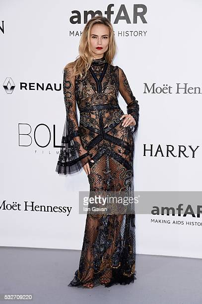 Natasha Poly arrives at amfAR's 23rd Cinema Against AIDS Gala at Hotel du CapEdenRoc on May 19 2016 in Cap d'Antibes France