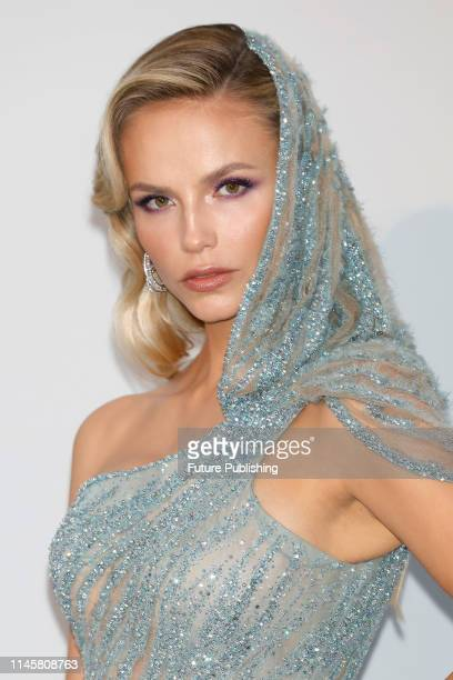 Natasha Poly at the amfAR Cannes Gala 2019 at Hotel du CapEdenRoc on May 23 2019 in Cap d'Antibes France