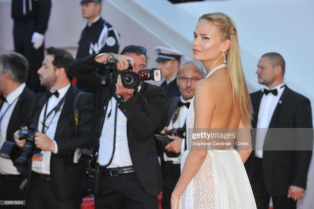 Natasha Poly at the Closing ceremony and 'A Fistful of Dollars' screening during 67th Cannes Film Festival