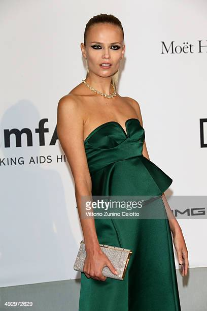 Natasha Poly attends amfAR's 21st Cinema Against AIDS Gala Presented By WORLDVIEW BOLD FILMS And BVLGARI at Hotel du CapEdenRoc on May 22 2014 in Cap...