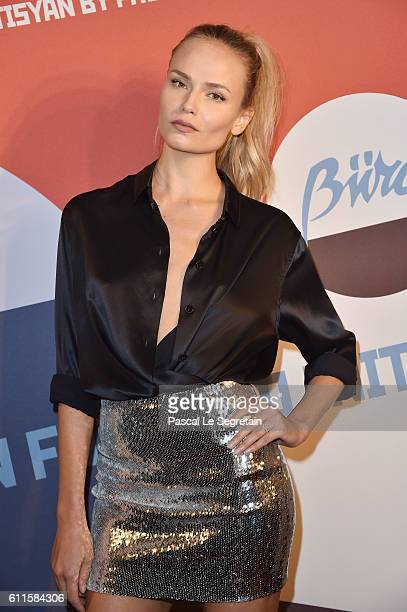 Natasha Poly attends Buro 24/7 Fashion Forward Initiative as part of Paris Fashion Week Womenswear Spring/Summer 2016 at Hotel Ritz on September 30...