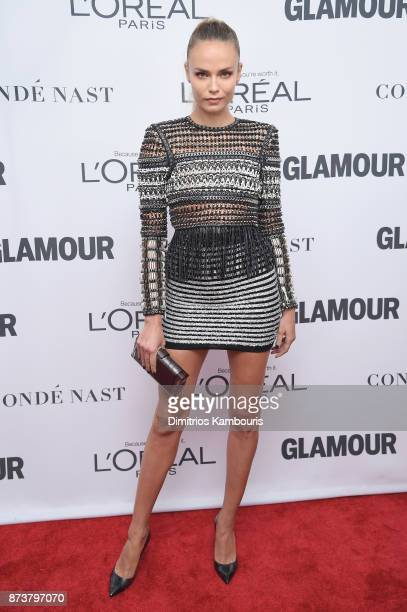 Natasha Poly attends Glamour's 2017 Women of The Year Awards at Kings Theatre on November 13 2017 in Brooklyn New York