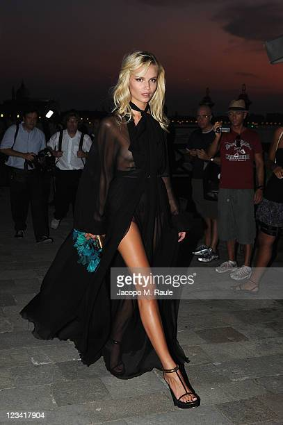 Natasha Poly attends the 2011 GUCCI Award For Women In Cinema at Hotel Cipriani on September 2, 2011 in Venice, Italy.