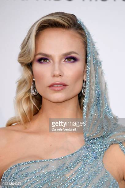 Natasha Poly attends the amfAR Cannes Gala 2019 at Hotel du CapEdenRoc on May 23 2019 in Cap d'Antibes France