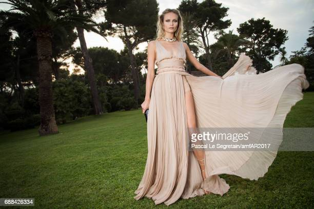 Natasha Poly attends the amfAR Gala Cannes 2017 at Hotel du CapEdenRoc on May 25 2017 in Cap d'Antibes France