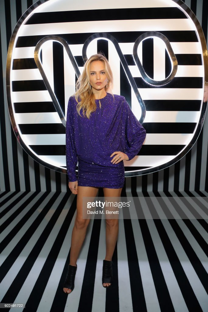Natasha Poly attends the Brits Awards 2018 After Party hosted by Warner Music Group, Ciroc and British GQ at Freemasons Hall on February 21, 2018 in London, England.
