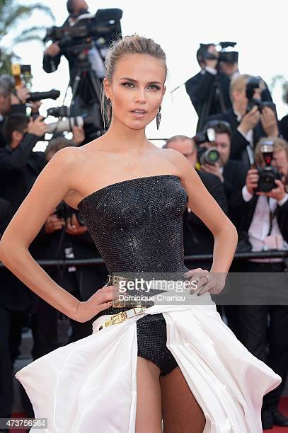 Natasha Poly attends the 'Carol' Premiere during the 68th annual Cannes Film Festival on May 17 2015 in Cannes France