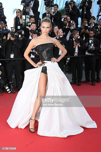 Natasha Poly attends the Carol premiere during the 68th annual Cannes Film Festival on May 17 2015 in Cannes France