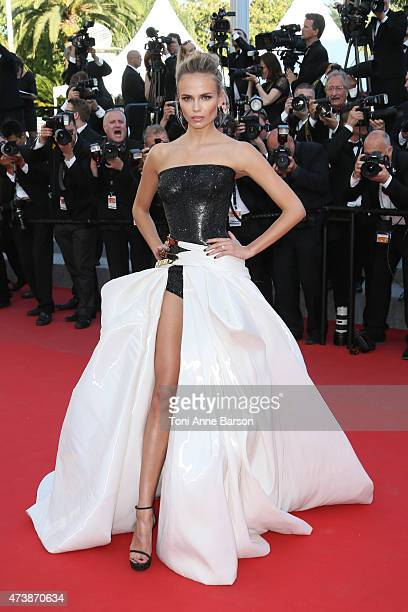 """Natasha Poly attends the """"Carol"""" premiere during the 68th annual Cannes Film Festival on May 17, 2015 in Cannes, France."""