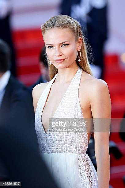 """Natasha Poly attends the Closing Ceremony and """"A Fistful of Dollars"""" screening during the 67th Annual Cannes Film Festival on May 24, 2014 in Cannes,..."""