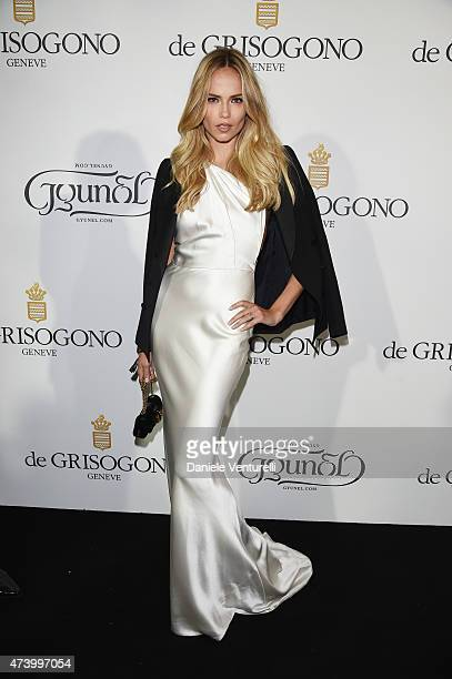 Natasha Poly attends the De Grisogono party during the 68th annual Cannes Film Festival on May 19 2015 in Cap d'Antibes France