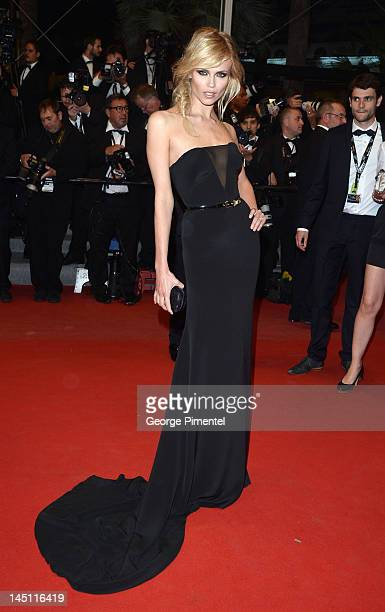 Natasha Poly attends the Holy Motors Premiere during the 65th Annual Cannes Film Festival at Palais des Festivals on May 23 2012 in Cannes France