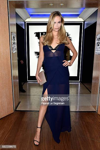 Natasha Poly attends the L'Oreal Party during the annual 69th Cannes Film Festival at on May 18 2016 in Cannes France