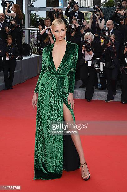 Natasha Poly attends the Madagascar 3 Europe's Most Wanted Premiere during the 65th Annual Cannes Film Festival at Palais des Festivals on May 18...