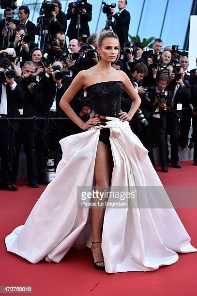 Natasha Poly attends the Premiere of Carol during the 68th annual Cannes Film Festival on May 17 2015 in Cannes France