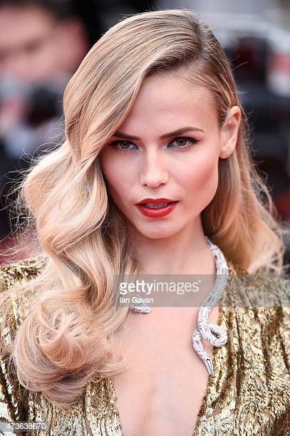 Natasha Poly attends the Premiere of 'The Sea Of Trees' during the 68th annual Cannes Film Festival on May 16 2015 in Cannes France