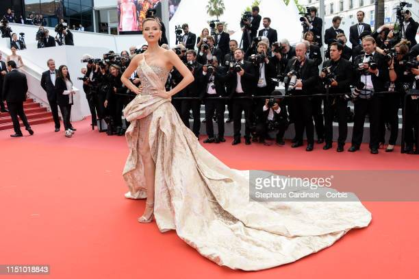 "Natasha Poly attends the screening of ""Oh Mercy! "" during the 72nd annual Cannes Film Festival on May 22, 2019 in Cannes, France."