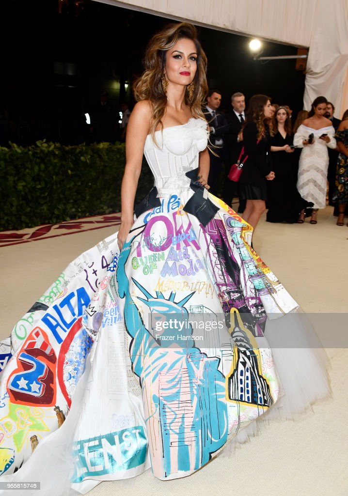 Natasha Poonawalla attends the Heavenly Bodies: Fashion & The Catholic Imagination Costume Institute Gala at The Metropolitan Museum of Art on May 7, 2018 in New York City.