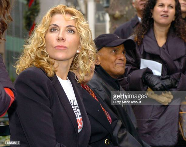 Natasha Richardson and Harry Belafonte. The Honorable Mayor Michael Bloomberg, Natasha Richardson and Harry Belafonte join Kenneth Cole on World AIDS...
