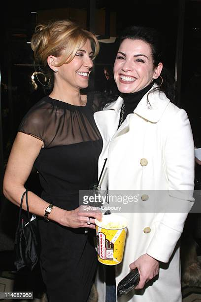 Natasha Richardson and Julianna Margulies during 'Seraphim Falls' New York Screening Hosted by The Cinema Society Inside Arrivals at Tribeca Grand...