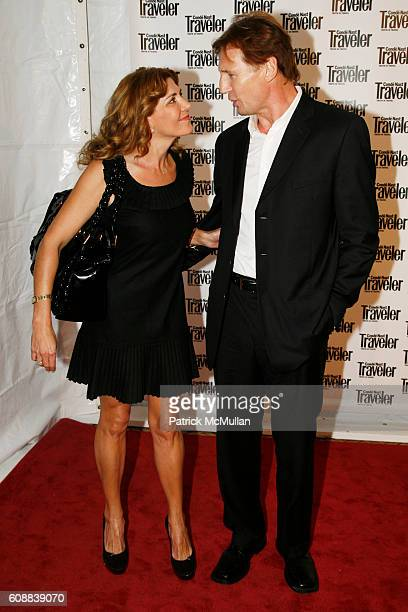 Natasha Richardson and Liam Neeson attend CONDE NAST TRAVELER Readers' Choice Awards & 20TH Anniversary Party at Cooper-Hewitt National Design Museum...