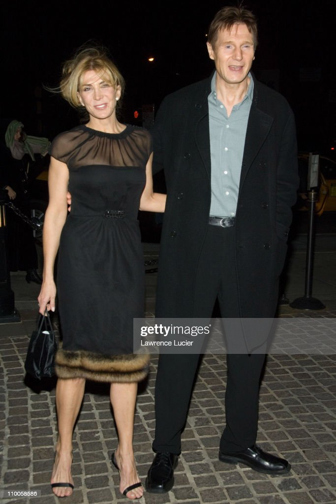 Natasha Richardson and Liam Neeson during Seraphim Falls New
