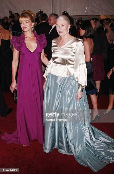 "Natasha Richardson and Vanessa Redgrave during ""Poiret: King of Fashion"" Costume Institute Gala at The Metropolitan Museum of Art - Arrivals at..."