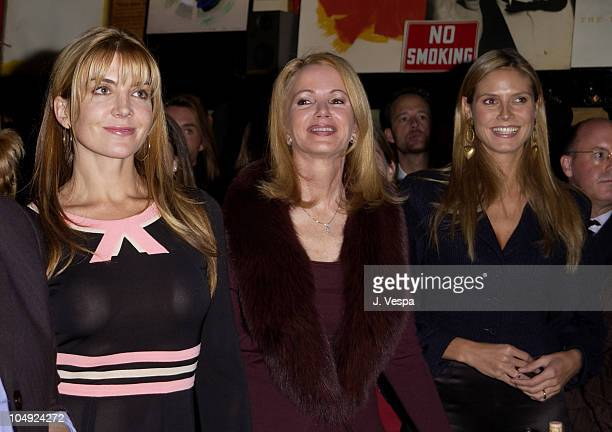 Natasha Richardson Blaine Trump Heidi Klum during Race to Deliver Celebrity Auction to benefit God's Love We Deliver at Elaine's Restaurant in New...
