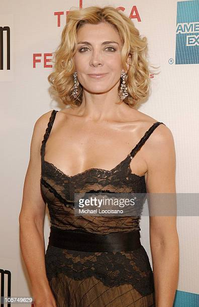 Natasha Richardson during 4th Annual Tribeca Film Festival Asylum Premiere Arrivals at Stuyvesant High School in New York City New York United States
