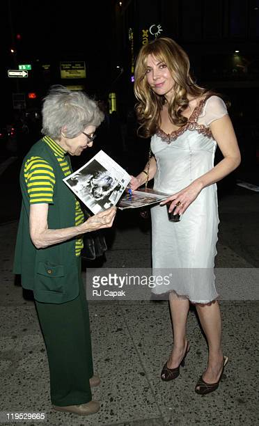 Natasha Richardson during Madame Melville opening night post party at Ernie's Restaurant in New York City New York United States