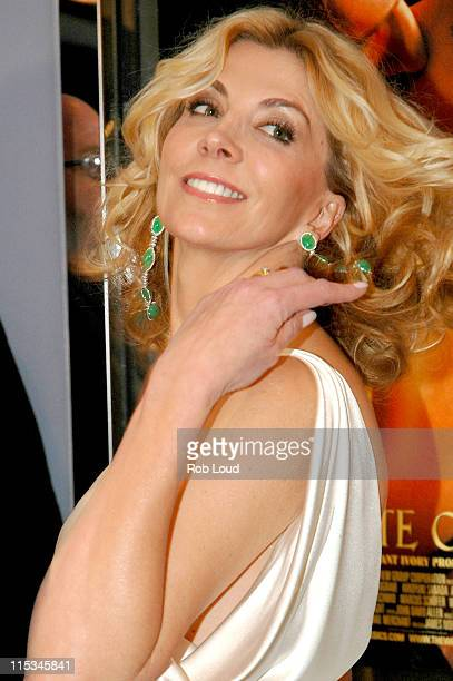 Natasha Richardson during Merchant Ivory's The White Countess New York City Premiere at The Paris Theatre in New York City New York United States