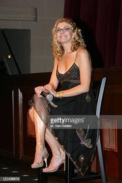 "Natasha Richardson during Savannah Film Festival Screening of ""The White Countess"" at Savannah College of Art & Design in Savannah, Georgia, United..."