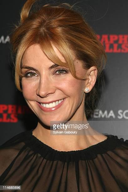 Natasha Richardson during Seraphim Falls New York Screening Hosted by The Cinema Society Inside Arrivals at Tribeca Grand Hotel Grand Screening Room...