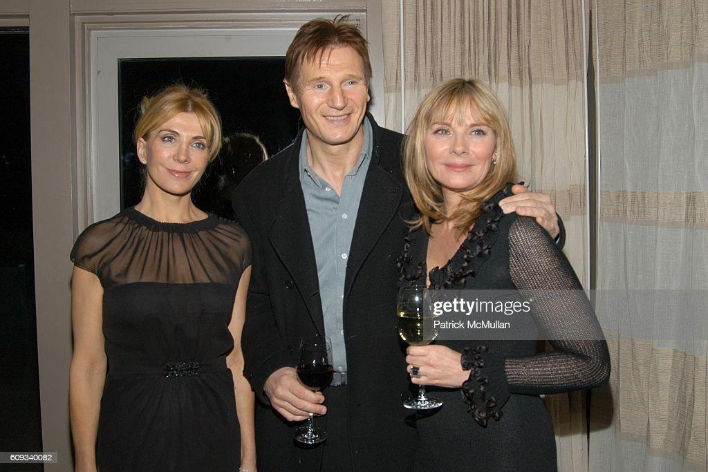 Natasha Richardson, Liam Neeson and Kim Cattrall attend THE