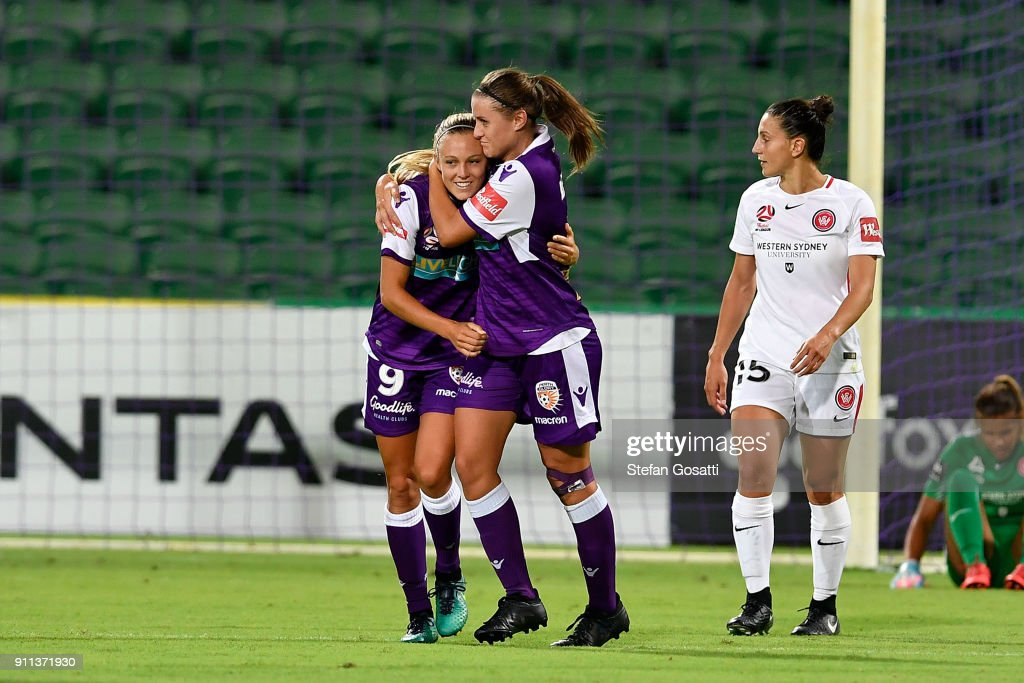 W-League Rd 13 - Perth v Western Sydney : News Photo