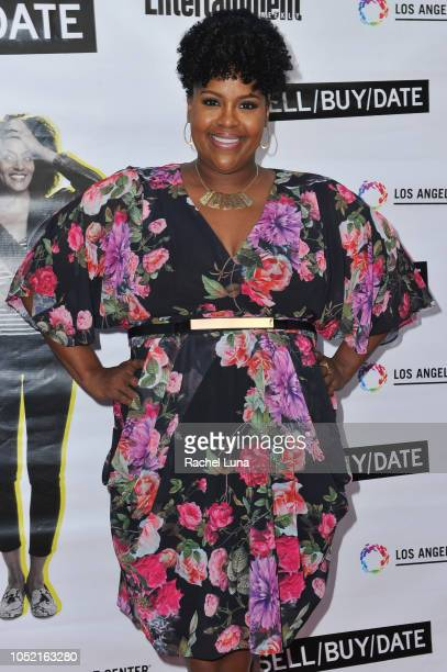 Natasha Rothwell arrives at opening night of 'Sell/Buy/Date' at the Los Angeles LGBT Center on October 14 2018 in Los Angeles California
