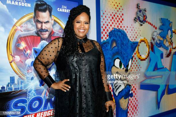Natasha Rothwell attends a Sonic The Hedgehog Special Screening at the Regency Village Theatre on February 12 2020 in Westwood California