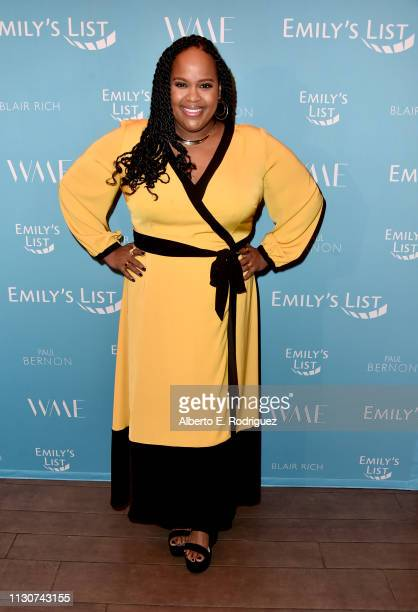 Natasha Rothwell attends EMILY's List 2nd Annual PreOscars Event at Four Seasons Los Angeles at Beverly Hills on February 19 2019 in Los Angeles...