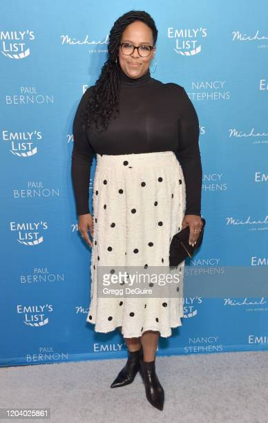 Natasha Rothwell attends EMILY's List 3rd Annual PreOscars Event at Four Seasons Hotel Los Angeles at Beverly Hills on February 04 2020 in Los...